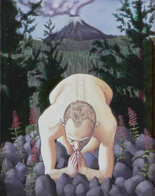 Praying, 40 Days in the Wilderness, 2008 _ Timothy Vermeulen