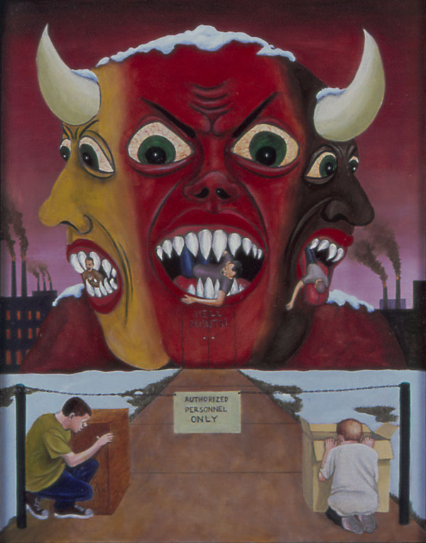 King of Hell, Dante's Inferno, 2004 _ Timothy Vermeulen