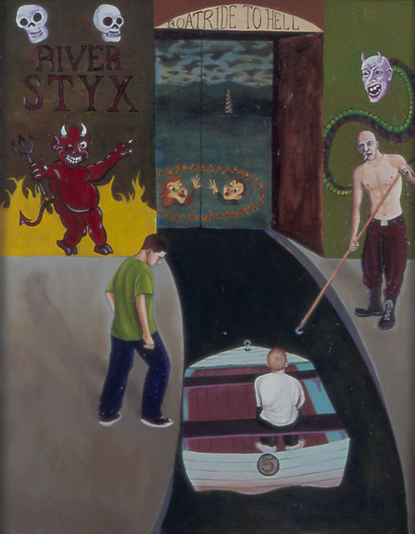 The River Styx, Dante's Inferno, 2004 _ Timothy Vermeulen