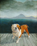 Bulldog on Deck, Dog Portraits, 2014 _ Timothy Vermeulen